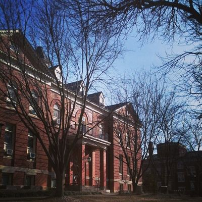 First day of spring semester 2014. Mizz Mizzou ParkerHall