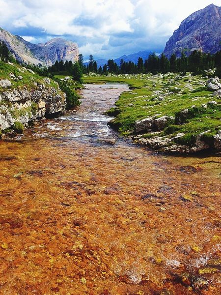 What Does Peace Look Like To You? Cortina D'Ampezzo Colors Mountains