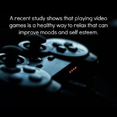 Sony Microsoft Ps3 PS4 Xbox XboxOne PC Games Gamer GamersAreTheBestLovers Stress Relax ScientificStudy Chillout Destress