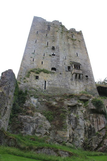 Ancient Architecture Architecture Blarney Castle Built Structure Castle Castle Ruin Castles Day Grass Historic History Low Angle View Nature No People Old Old Ruin Outdoor Photography Outdoors Rock Formation Ruins Sky The Past Travel Destinations