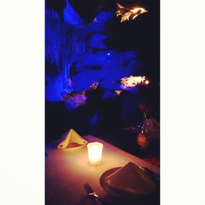 A Mayan gem, unique restaurant in a cave in Riviera Maya. Incredibly atmospheric Omgmexico2014 Playadelcarmen Rivieramaya