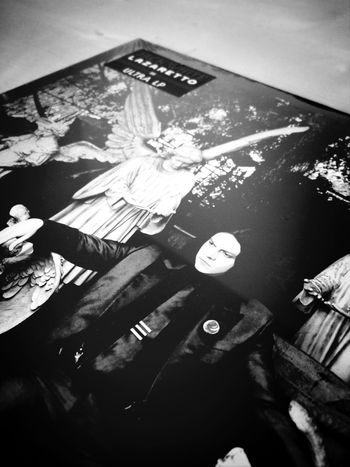 Oh hai Jack White . Vinyl masterpiece. ROCK ON!