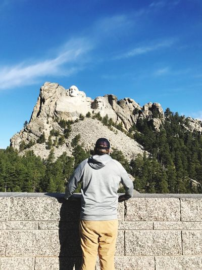 Mount Rushmore Spring Break Lonely Let's Go. Together.