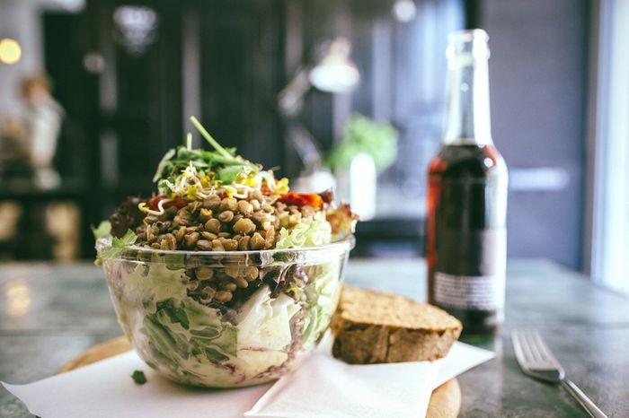 The Foodie - 2015 EyeEm Awards a very healthy lentil salad Lentils Healthy Food Salad Food Foodphotography Foodie Food
