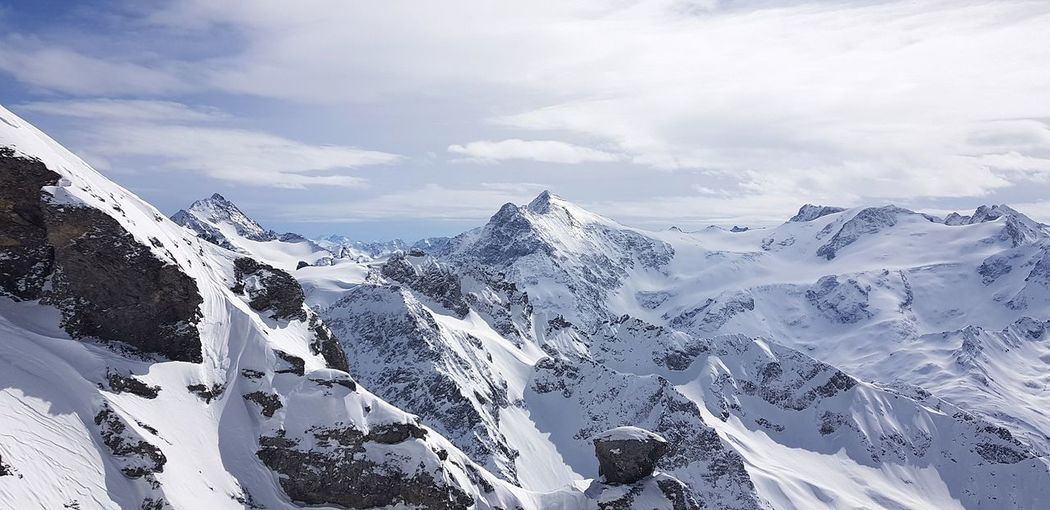 Alps Alpen Laub Forest Titlis,Switzerland Ski Town Berge Landscape Wonderful Mountain Snow Snowcapped Mountain Wilderness Area Winter Sky Mountain Range Landscape Cloud - Sky Rocky Mountains Deep Snow Rock Formation Natural Arch Powder Snow Cliff Rock - Object Canyon
