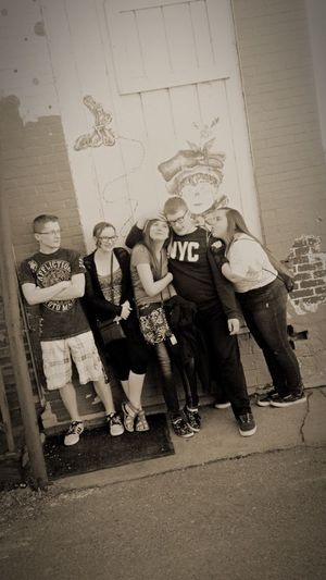 Loved this group so much! They were a blast! Happy People Downtown Hanging Out Enjoying Life Cheese! Taking Photos Experimenting