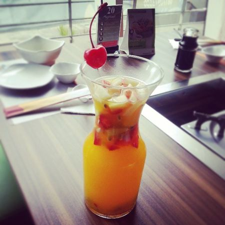 Fruit passion Juice Fruit Minuman Drink beverage restaurant itasuki pluit pluitjunction jakarta jaktown indo ind indonesia
