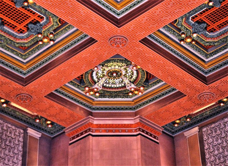 Soldiers and Sailors Concert Hall Ceiling ~ Oakland, Pennsylvania Ceiling Lights Molding Oakland, PA Pittsburgh Architecture Architecture And Art Building Built Structure Ceiling Ceiling Art Ceiling Design Close-up Concert Hall  Corner Decorative Molding History Lights And Shadows Luxury Multi Colored No People Ornate Pattern Red Soldiers And Sailors Museum The Past