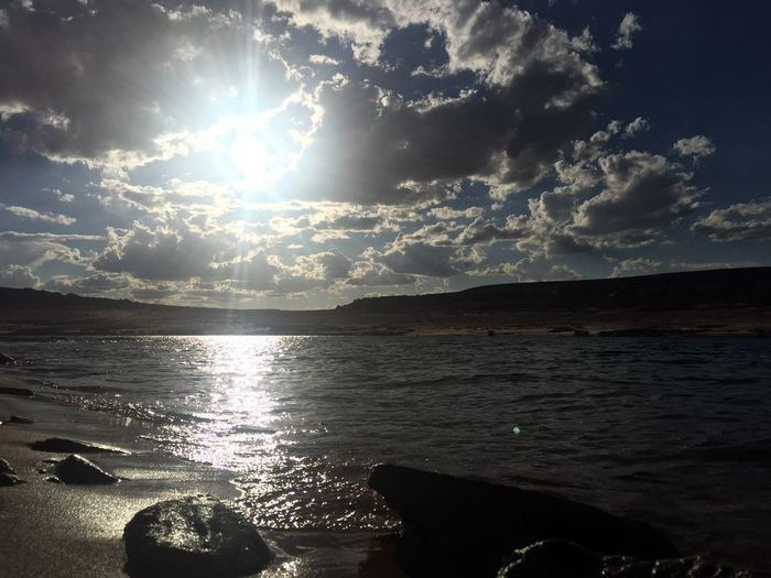 Lake Powell Travel Sunset Tramonto Lake Lake Powell