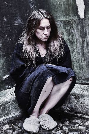 Dressing Gown Dark Depressed Dark Cold Dark Place
