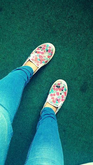 Kotd Shoes Selfie Shoes Sneakers Slip On Floral Casual