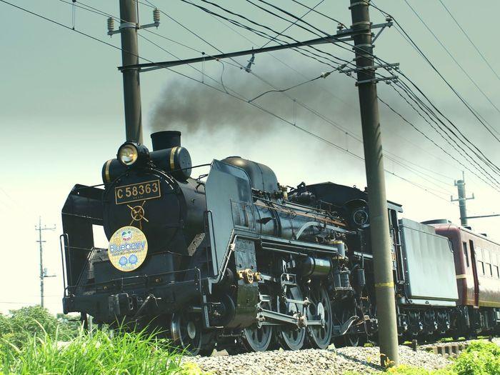 Steam Locomotive 秩父線 SL C58 パレオエクスプレス