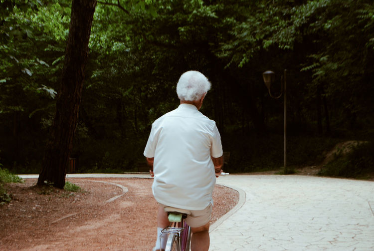 Ways Of Seeing EyeEm Selects Eyeem Photography EyeEm Best Shots WeekOnEyeEm Bicycle Old Man White Color Forest Photography Forestwalk Tree Senior Adult Rear View Back Spirituality Place Of Worship Steeple Hiker Walking Cane Human Back Adventures In The City Focus On The Story This Is My Skin Modern Hospitality The Photojournalist - 2018 EyeEm Awards The Street Photographer - 2018 EyeEm Awards The Still Life Photographer - 2018 EyeEm Awards Summer Road Tripping My Best Travel Photo