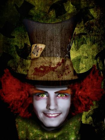 this is a photomanipulation of me as the mad hatter lol Art Mad Photoshop Digital Art Photomanipulation Hatter Madhatter Ichigopaul23 Having Fun