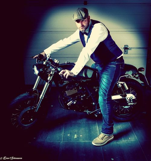 Please support me in raising funds and awareness for the DGR by dressing dapper and riding for prostate cancer and men's mental health. Go to https://www.gentlemansride.com/fundraiser/DaveSchrauwen148659 to donate. One Man Only Motorcycle Biker Me Thats Me  Suportme Donate And Change A Life Movember DGR2017 Distinguished Gentlemens Ride Looking At Camera