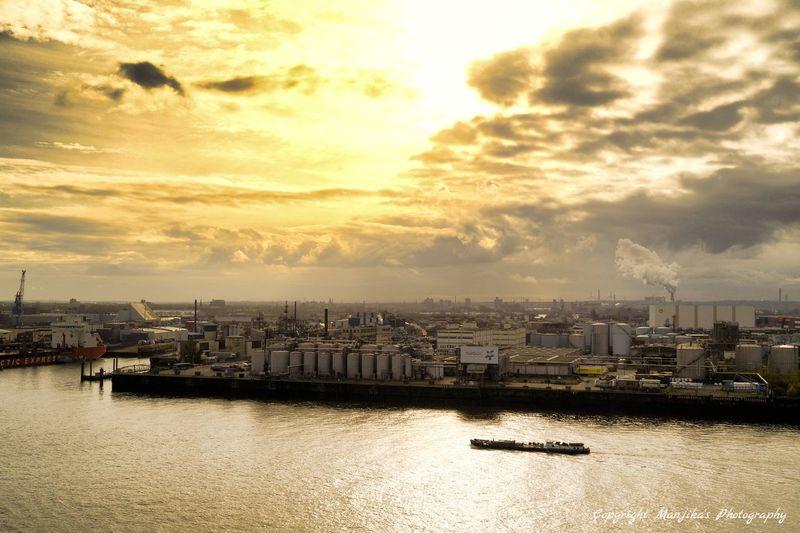 Blick von der Elbphillhamonie Hamburg Manjika's Photography