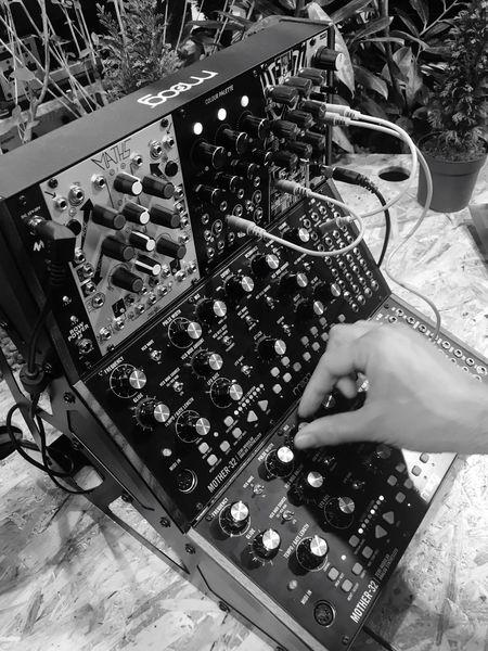 Music Musician Musical Instruments Musical Instrument Moog Synthesizer Moog Synthesizer Musikmesse Frankfurt Am Main Monochrome Blackandwhite Black And White Black & White Bw IPhoneography Iphonephotography