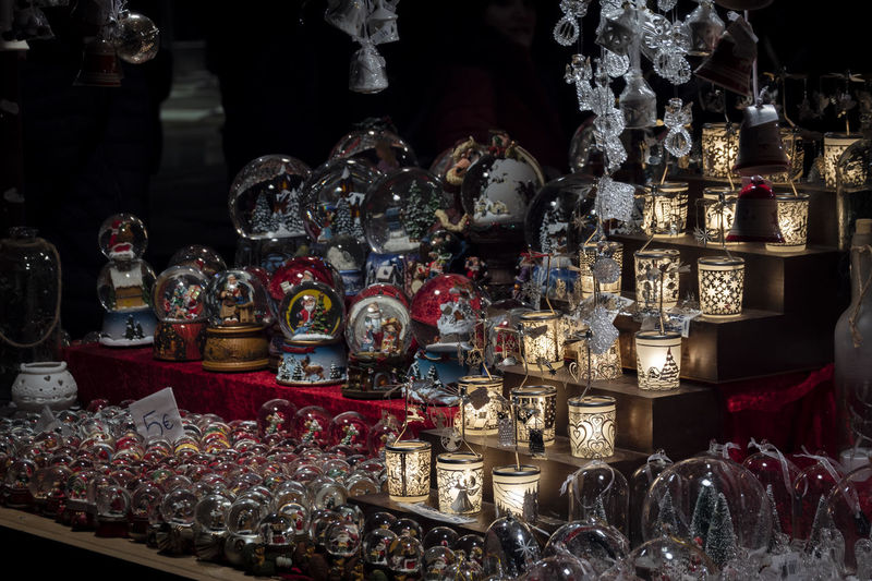 Variation Choice Large Group Of Objects Abundance For Sale Arrangement Retail  Art And Craft Market Collection Indoors  No People Retail Display Human Representation Representation Religion Market Stall Container Sale Spirituality Order Altar Antique Snowball