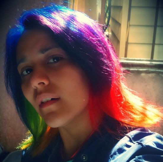 Rainbow Colors Rainbow Hair Dye Rainbowhair Yo