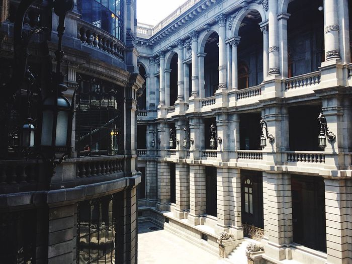 Architecture History Built Structure Architectural Column Building Exterior Day No People Outdoors Cdmx