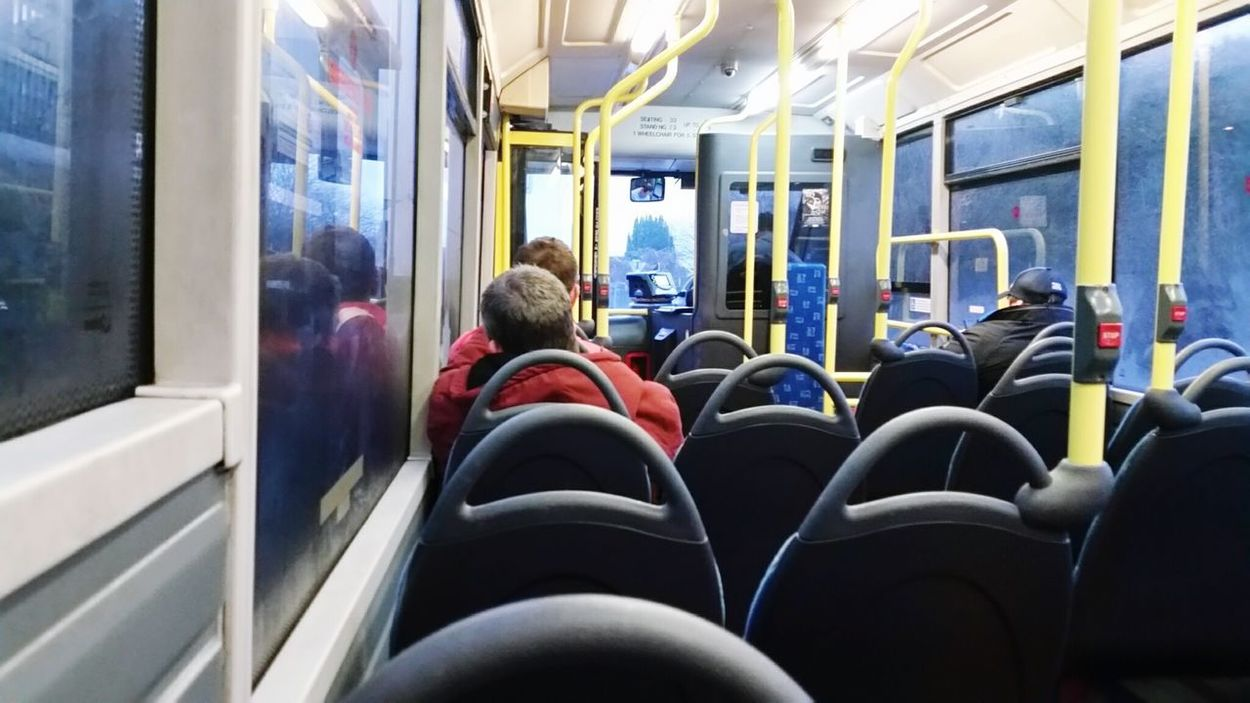 EyeEm Selects Vehicle Interior Transportation Sitting Adult Vehicle Seat Public Transportation Mode Of Transport People Bus West Wales Wales United Kingdom