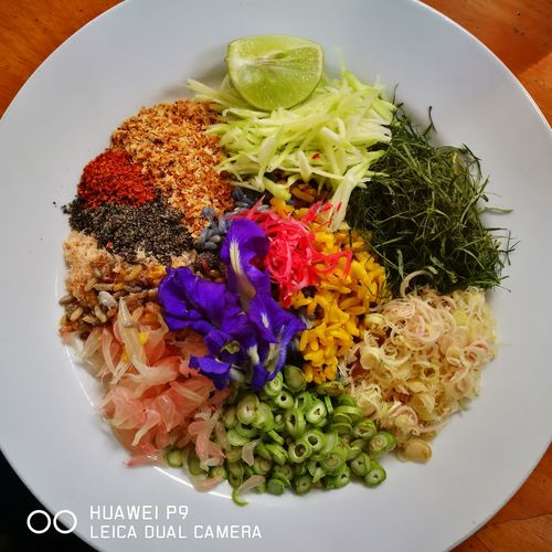 Healthy Rice Salad Thai Food Colourful yummy Delicious