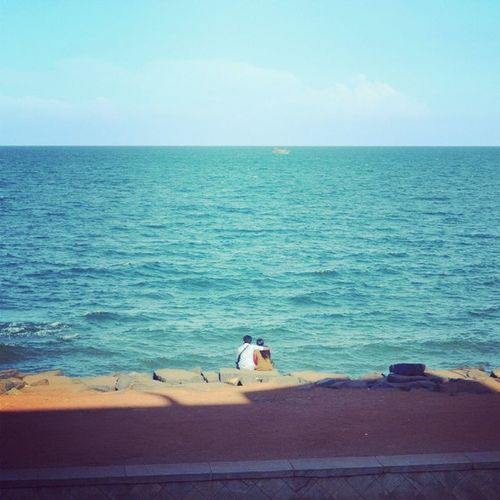 Love Peace Beach Pondicherry RockBeach