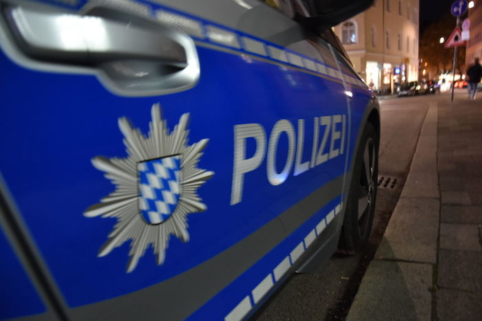 Polizei Polizei Auto Polizeiauto Blue Car Close-up Night No People Police Police Car Police Cars Polizeieinsatz Transportation