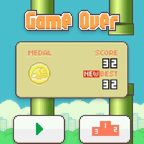 This is my official Ihavenolife card. This game tho. The devil made it. Lucifer FlappyBirds .
