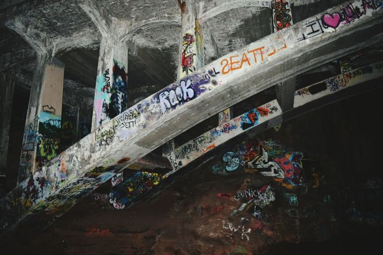 Graffiti Bridge Night Colors Showcase March Colorado Springs, CO How Do We Build The World? The Architect - 2016 EyeEm Awards Architecture