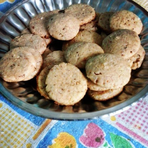 Crunchy Coconut Cookies almost out for Englishtea Tea time in Palampur Dharamshala ....Homemade Hobby Cooking Baking Biscuits Vegan Instacookies March302015 Instabaking Cookiemonster Cookiegram