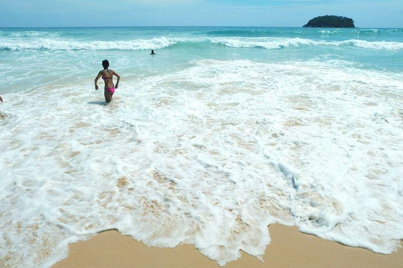 Blue Sky Sand Sae Wave