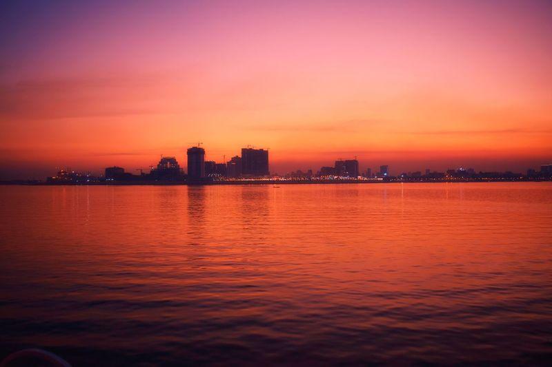 Sunset Nightfall Dusk Eventide