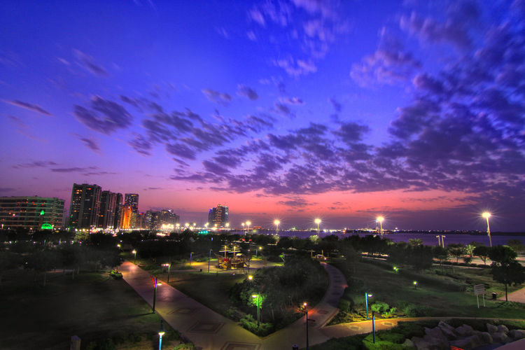 The skyline of
