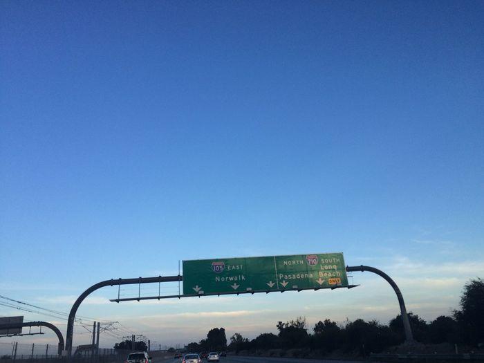 Eastbound! Bye-bye, West Coast