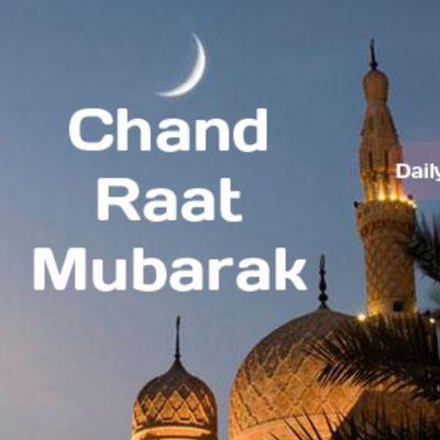 Chand Raat Mubarak Pakistan Muslims love enjoying fun happy