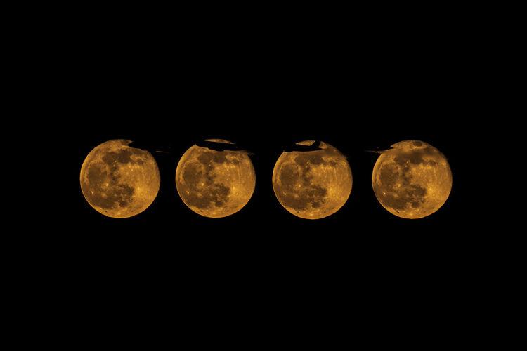 Moon Copy Space