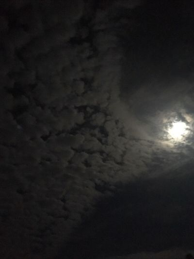 EyeEmNewHere Cloud - Sky Nature Beauty In Nature Sky Scenics Cloudscape Sky Only No People Tranquility Outdoors Low Angle View Night Moon Weather Tranquil Scene Backgrounds