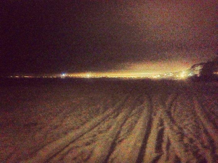 Nightime Beach Stroll.