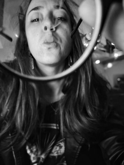 bizoucarcajou.etsy.com Portrait Young Women Looking At Camera Headshot Close-up