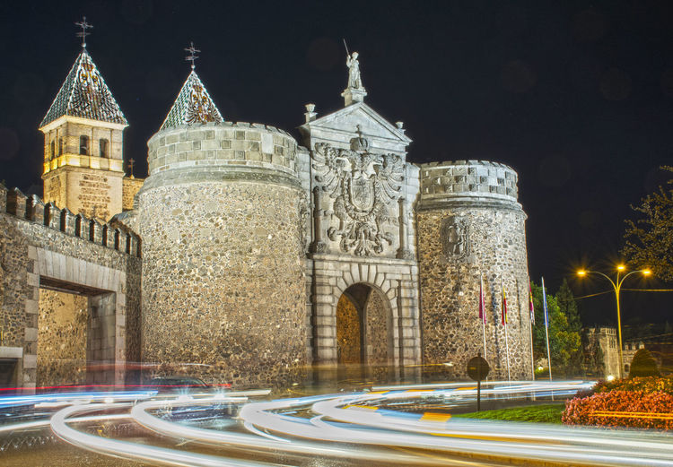 Light Nightphotography Puerta Visagra Tol Travel Travel Photography Architecture Building Exterior Built Structure City España Fotografía Nocturna History Illuminated Larga Exposicion Long Exposure Medieval Architecture Night No People Outdoors Sky Toledo Travelling Photography