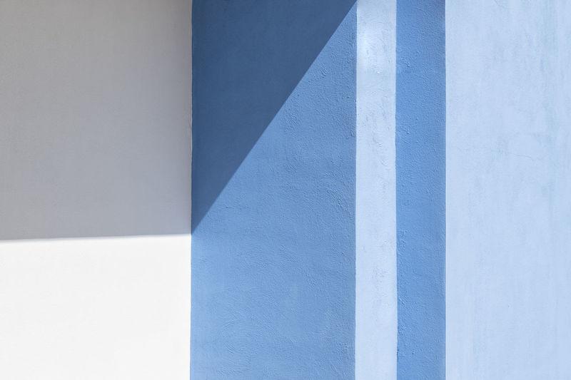 Full frame shot of white wall of building