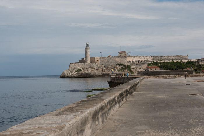 Malecon, Castillo de la Punta Castillo Cuba Cuba Collection Day Havana Lighthouse Malecon Travel Photography