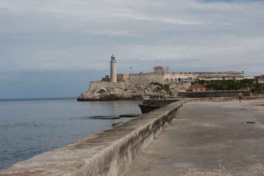Malecon, Castillo de la Punta Castillo Cuba Cuba Collection Day Havana Lighthouse Malecon Travel Photography