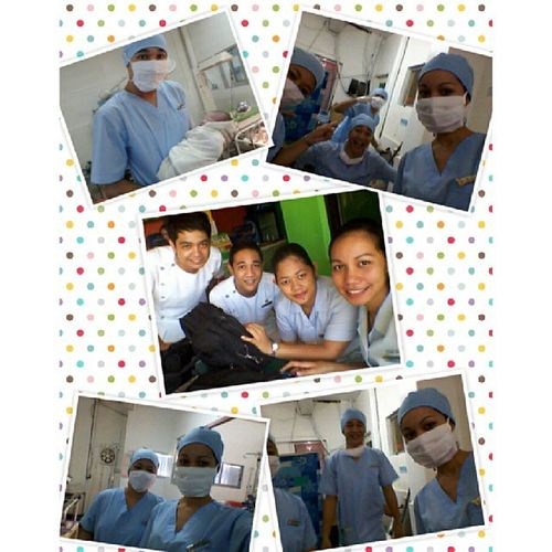 'c0z we are back!! n0t in 0R, but in DR! ;) this is an awes0me experience.. 8 cAses in 6 h0urS. bahahah Dr C0mpLeti0n duty WvmcDR 1stday @wilainejoy @dalebac bAde