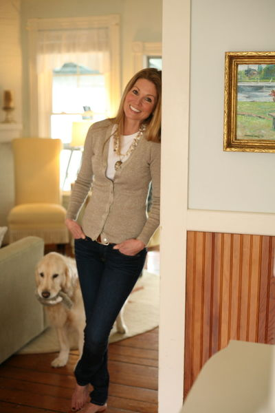 Susie and Faith Dog Owner Golden Retriever Adult Animal Themes Casual Clothing Day Dog Domestic Animals Front View Full Length Happiness Home Interior Indoors  Lifestyles Looking At Camera Mammal One Animal One Person Pets Portrait Real People Smiling Standing Young Adult Young Women