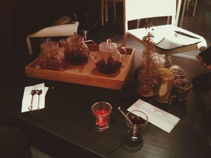 Taste Testing Tea Coffee Lattes Opening Soon