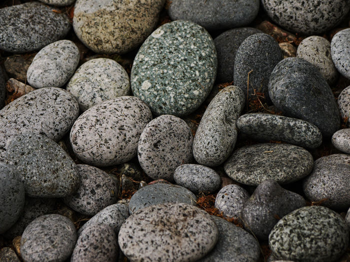 Backgrounds Geometric Shape Grey Large Group Of Objects No People Pebble Repetition Stone - Object Textured