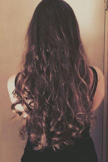 Long Hair Curls Staywithme Whyamisingle LOL YOLO ✌ Eyemphotos