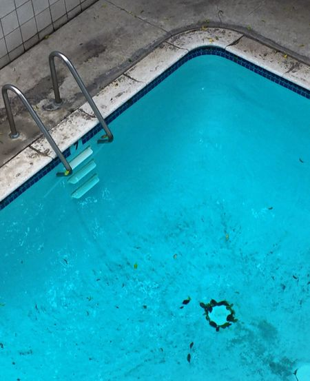 Swimming Pool Blue Water Day Outdoors No People Nature Beauty In Nature